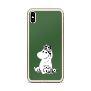 Snorkmaiden iPhone case forest green