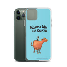 Load image into Gallery viewer, Mamma Moo and the Crow Blue iPhone Case