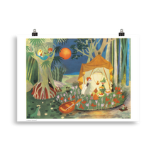 Load image into Gallery viewer, Moomin poster - The Secret Island