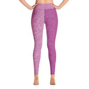 Gigglebug Pink One-eyed Pinecones Yoga Leggings Skandibrand