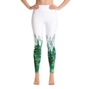 Gigglebug Forest Yoga Design Leggings Skandibrand