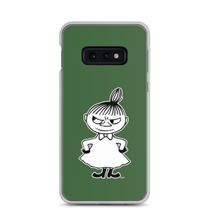Little My Samsung case forest green