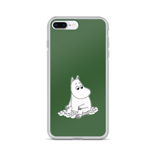 Load image into Gallery viewer, Moomin iPhone case forest green