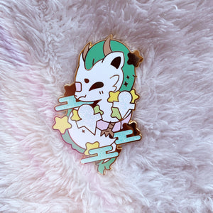 HAKU DRAGON ENAMEL PIN