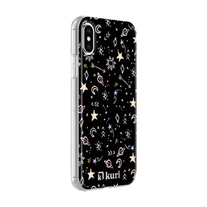 Metallic Stars Printed Case