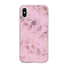 Load image into Gallery viewer, Rose Gold Roses Printed Case