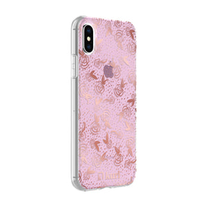 Rose Gold Roses Printed Case