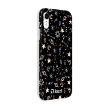 Load image into Gallery viewer, Metallic Stars Printed Case
