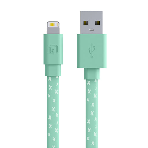 Mint Crosses 6ft Lightning Cable