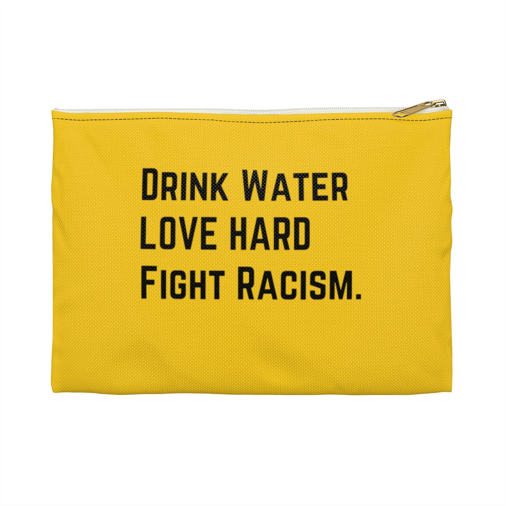Drink Water Gold Pouch