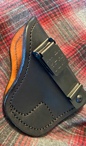 Sub-Compact Frame IWB Black Holster with Ulticlip