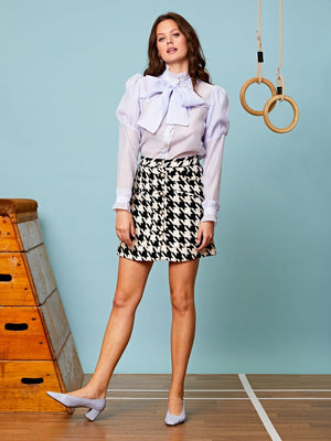 Audrey Tiered Organza Bow Blouse Sister Jane