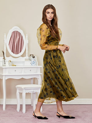Make Believe Maxi Wrap Dress Sister Jane
