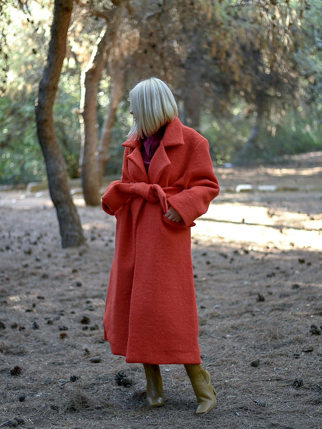 Asper Red Coat Damodastories Collection