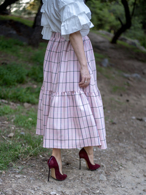 Gretta Midi Skirt Damodastories Collection