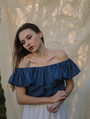Eva Cropped Top Damodastories Collection