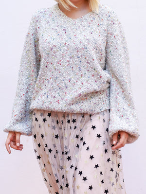 Sweater Snow Lurex