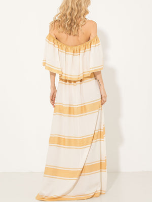 Maxi Dress Without Shoulders Be You