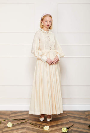 Rosette Lace Maxi Dress Sister Jane