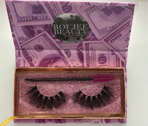 'BANDZ'- 5D (16- 24MM) MINK EYELASHES (Money Bag Collection)