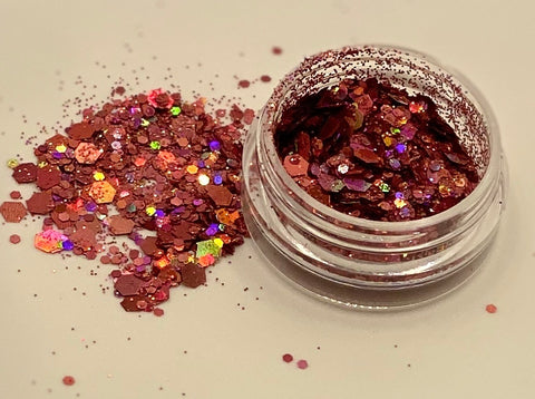 'COPPER' - CHUNKY HOLOGRAPHIC FACE, BODY & ART GLITTER