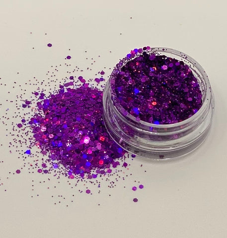 Purple - Holographic fine Glitter
