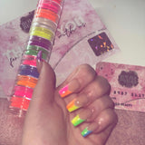 12 stack neon uv pigments
