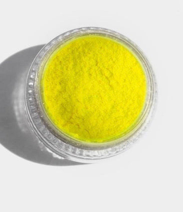 Yellow-Single neon uv pigment