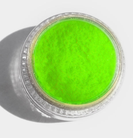 SINGLE 'GREEN'- UV NEON FACE, BODY & ART PIGMENT'