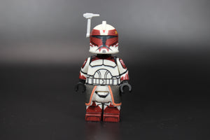 AV Phase 1 Commander Wolffe (Dark Red/Sand Blue) (Ready to Go!)