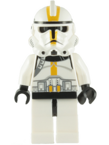 Clone Trooper Episode 3, Yellow Markings, No Pauldron, 'Star Corps Trooper'