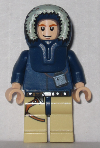 Han Solo - Light Nougat, Parka Hood, Tan Legs with Holster (2010)