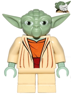Yoda (Clone Wars, Gray Hair)
