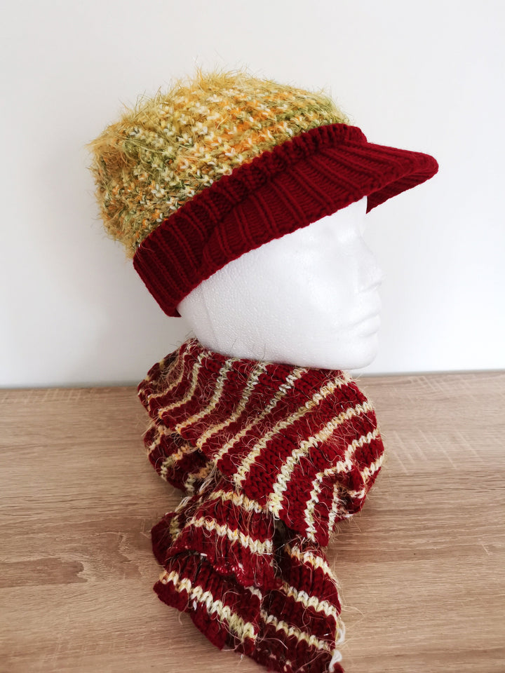 Scarf & Cap Combo (Style-1)
