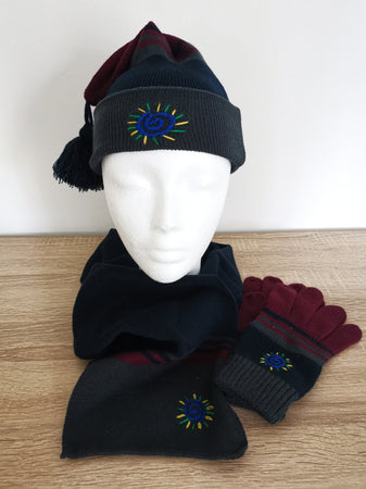 Scarf & Cap Combo With Gloves (Style-2)