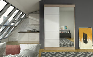 Sliding Wardrobe With Mirror ONIL-III (120 CM) 349.00 Klik ponudba