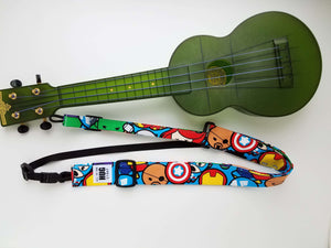 Ukulele Strap ALL in ONE Hug Strap - Marvel Avengers Kawaii