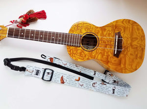 Ukulele Strap All in One Hug - Barnyard Yoga