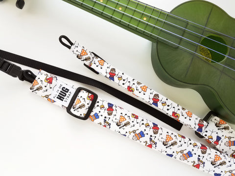Ukulele Strap ALL in ONE Hug - Music Kids Classroom