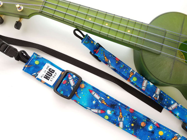 Ukulele Strap ALL in ONE Hug - Buckingham Palace Guards - LIMITED EDITION