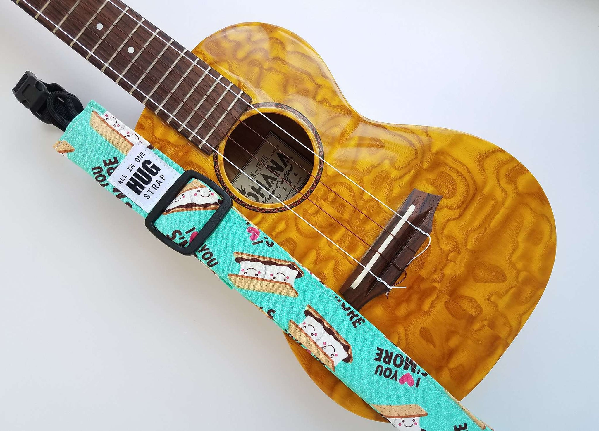 Ukulele Strap All in One Hug S'mores