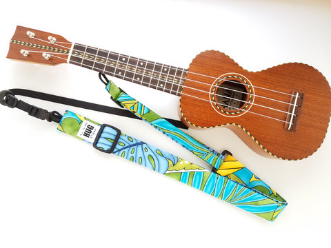 Ukulele Strap ALL in ONE Hug - Cartoon Tapa