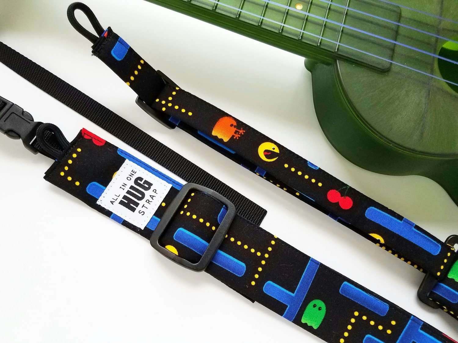 Ukulele Strap ALL in ONE Hug Strap - Arcade Games
