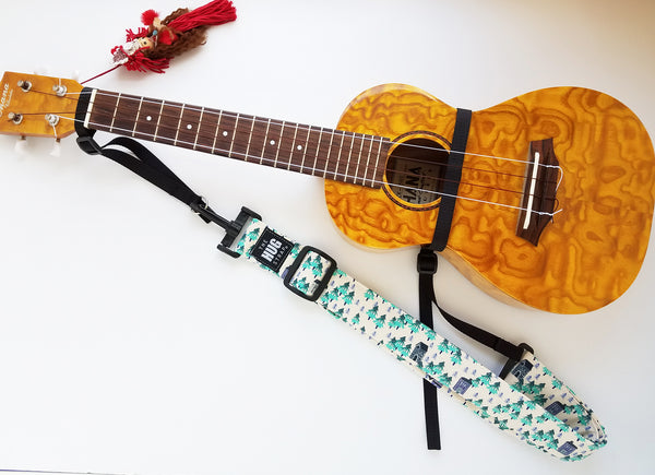 Hug Strap for Ukulele - Forest