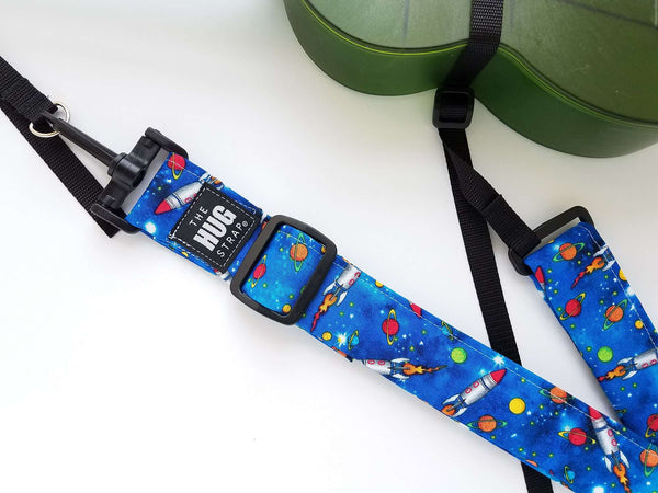Hug Strap for Ukulele - Rockets in Space