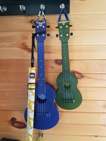 Ukulele Hanger - Solid Colors