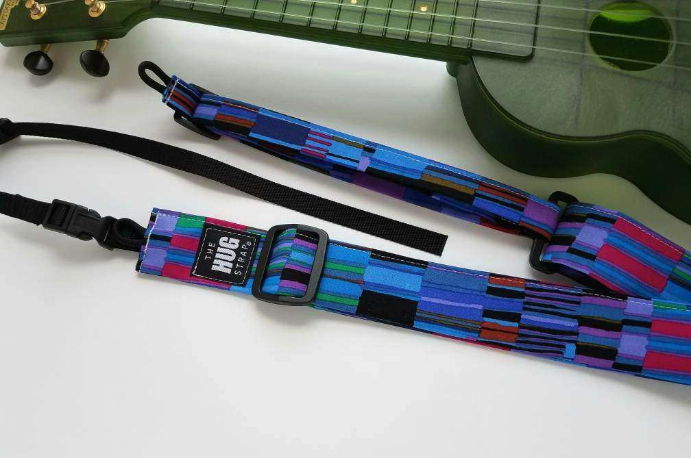 All in One Hug Strap, Cool Color Stripes