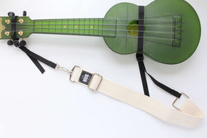 Hug Strap Ukulele Strap No Button Cream