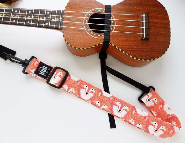 Hug Strap for Ukulele Fox Selfies