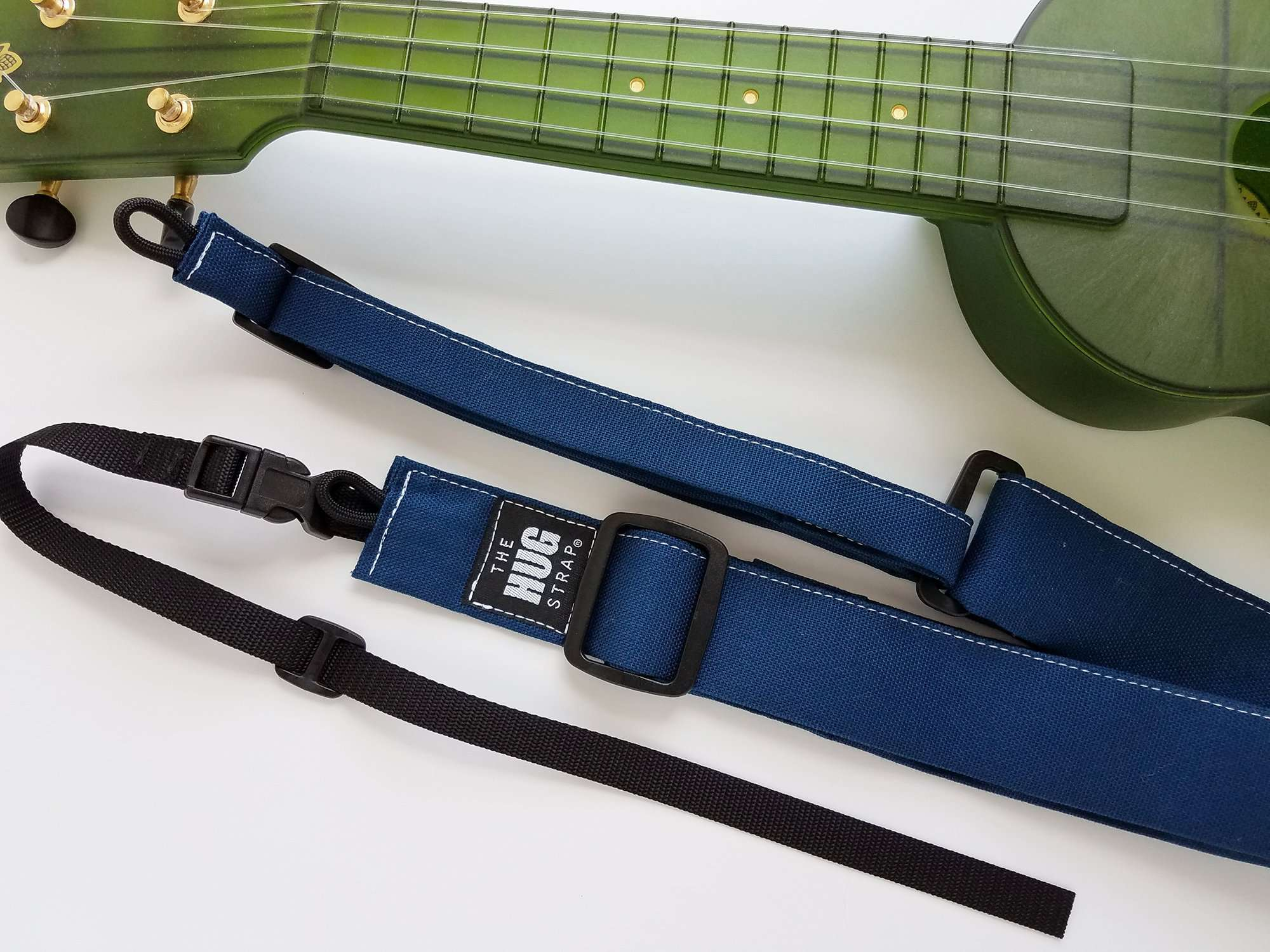 Ukulele Strap All in One HUG Strap Denim Blue